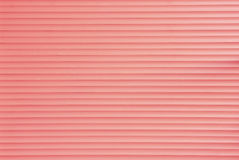 Carmine Background of Roller Door Royalty Free Stock Photography