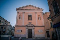 Carmine Church in Carrara lizenzfreie stockfotos
