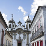 carmo ・ church del joao rey圣地 库存照片