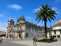 Carmo and Carmelitas Churches in Porto Stock Image