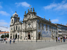 Carmo and Carmelitas Churches in Porto, Portugal Royalty Free Stock Photo