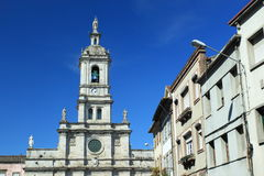 Carmo church in Braga. Portugal Stock Photography