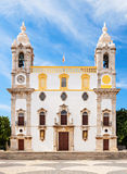 Carmo Church. (Chapel of Bones) in Faro, Portugal Royalty Free Stock Photo