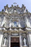 Carmo Church facade detail, in Porto. Stock Image