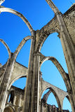 Carmo Church, Lisbon Royalty Free Stock Image