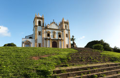 Carmo church in Olinda, Pernambuco, Brazil.  Royalty Free Stock Photography