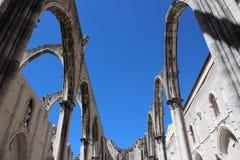 Carmo Convent Arches Στοκ Φωτογραφίες