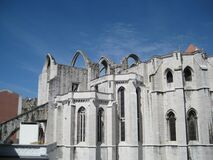 carmo-convent-arches Royalty Free Stock Photography