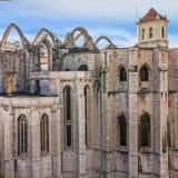 The Carmo Convent Convento da Ordem do Carmo - historical buil Stock Image