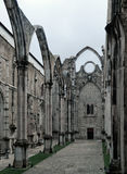 Carmo Convent (Lisbon) Stock Image