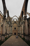 Carmo convent in Lisbon, Portugal Royalty Free Stock Photo