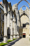 Carmo Convent Royalty Free Stock Photography