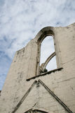 Carmo convent ruins Royalty Free Stock Photography