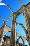 Carmo-Kirche, Lissabon lizenzfreies stockbild