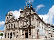 Carmo kościół w Porto, Portugalia (Igreja robi Carmo) Zdjęcia Stock