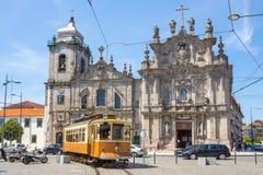 Carmo kyrka och Carmelites kyrka Royaltyfria Foton