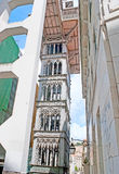 Carmo Lift in Lisbon Royalty Free Stock Photos