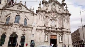 Carmo och Carmelitas kyrkor arkivfilmer