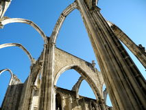 The Carmo Ruins Stock Photos