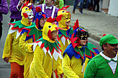 Carmona, Carnival 1 Royalty Free Stock Images