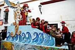 Carmona, Carnival 24 Stock Photography
