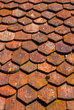 carmona forteczne bramy dachu Seville Spain płytki fotografia stock