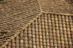 carmona forteczne bramy dachu Seville Spain płytki zdjęcie royalty free