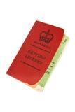 Carné de conducir británico de la vendimia Foto de archivo libre de regalías