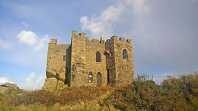 Carn brea castle Royalty Free Stock Photos