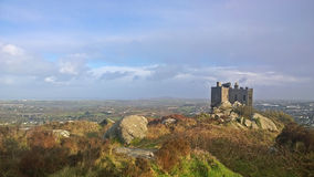 Carn brea castle Royalty Free Stock Photo