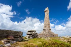 Carn Brea Monument Cornwall Stock Images