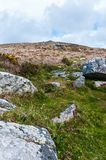 Carn Galver, looking up to the summit royalty free stock photography