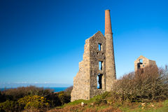 Carn Galver Mine Cornwall Royalty Free Stock Photography