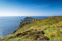 Carn Gloose in Cornwall Royalty Free Stock Photos