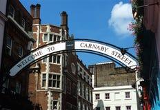 carnababy london gata Arkivbilder