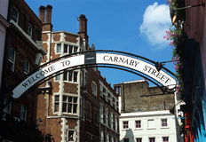 Carnababy Street London. Stock Images
