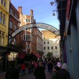 Carnaby gata - London Royaltyfria Foton
