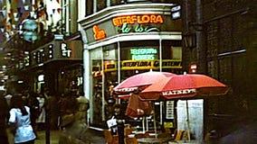 Carnaby Street arquivístico de Londres video estoque