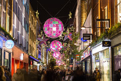 Carnaby Street at Christmas Stock Image