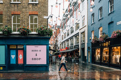 Carnaby street Royalty Free Stock Images