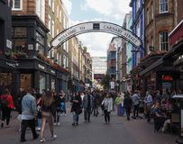 Carnaby Street in London Stock Photography