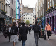 Carnaby Street in London Stock Image