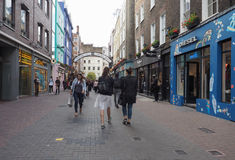 Carnaby Street in London Royalty Free Stock Photos