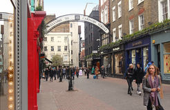 Carnaby Street Royalty Free Stock Photos