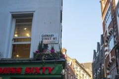 Carnaby Street Stock Photo