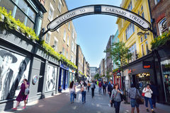 Carnaby Street London UK Royalty Free Stock Image