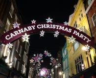Carnaby Street - London -UK Stock Photos