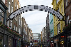 Carnaby street London Royalty Free Stock Photography