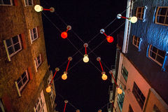 Carnaby Street by Night Stock Photos