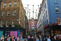 Carnaby Street Royalty Free Stock Photos